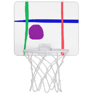 Blue Horizon Mini Basketball Hoop