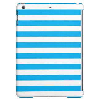 Blue Horizontal Stripes Case For iPad Air
