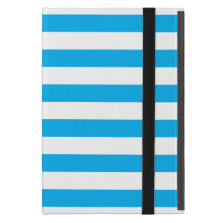 Blue Horizontal Stripes Case For iPad Mini