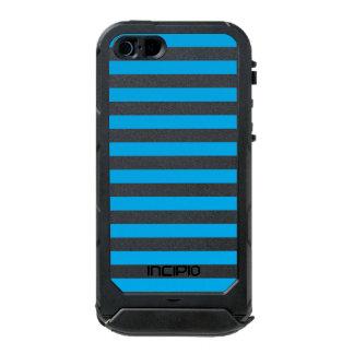 Blue Horizontal Stripes Incipio ATLAS ID™ iPhone 5 Case