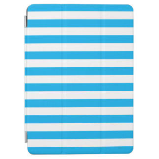 Blue Horizontal Stripes iPad Air Cover