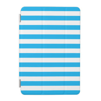 Blue Horizontal Stripes iPad Mini Cover