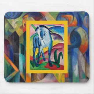 Blue Horse I by Franz Marc Mouse Pad