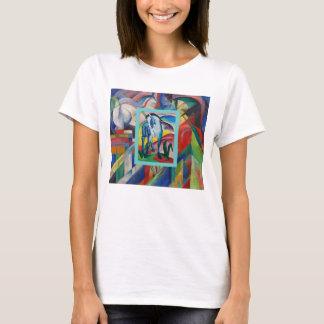 Blue Horse I by Franz Marc T-Shirt