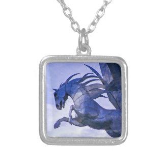 Blue Horse Pendant