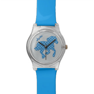 blue horse watch