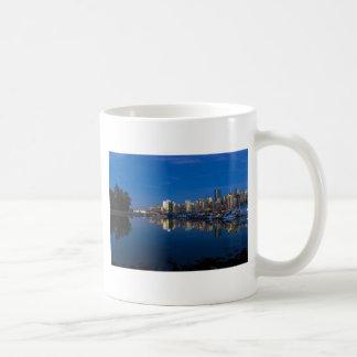 Blue Hour Reflection of Vancouver BC Coffee Mug