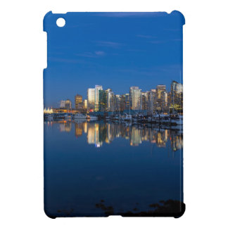 Blue Hour Reflection of Vancouver BC iPad Mini Cover