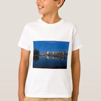 Blue Hour Reflection of Vancouver BC T-Shirt