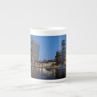 Blue hour skyscrapers in Dubai Marina Tea Cup