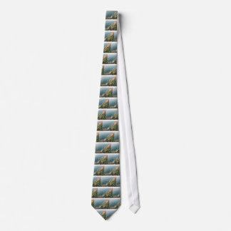 Blue hour tie