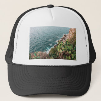 Blue hour trucker hat