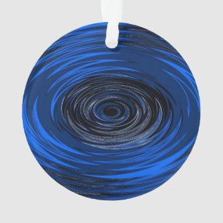 Blue Hurricane Ornament