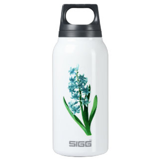 Blue Hyacinth by Pierre Joseph Redoute Insulated Water Bottle