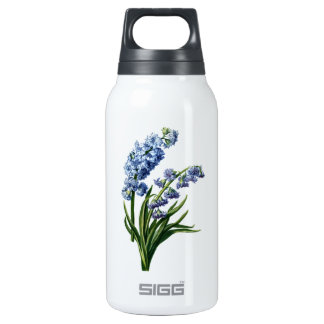 Blue Hyacinth Drawn from Nature Insulated Water Bottle