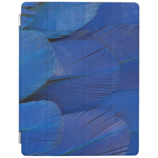 Blue Hyacinth Macaw Feather Design iPad Cover
