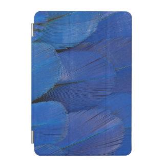 Blue Hyacinth Macaw Feather Design iPad Mini Cover