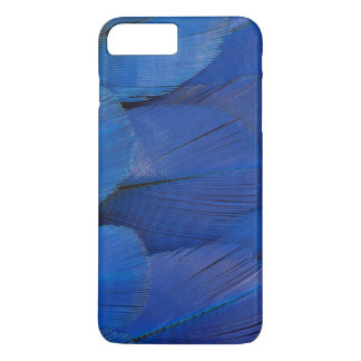Blue Hyacinth Macaw Feather Design iPhone 8 Plus/7 Plus Case