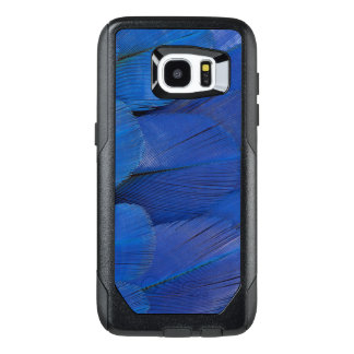 Blue Hyacinth Macaw Feather Design OtterBox Samsung Galaxy S7 Edge Case