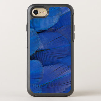 Blue Hyacinth Macaw Feather Design OtterBox Symmetry iPhone 8/7 Case