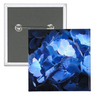 Blue Hydrangea - Button 1