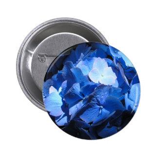 Blue Hydrangea - Button 2