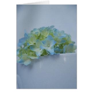 Blue Hydrangea by Cynthia Turner Designs Card
