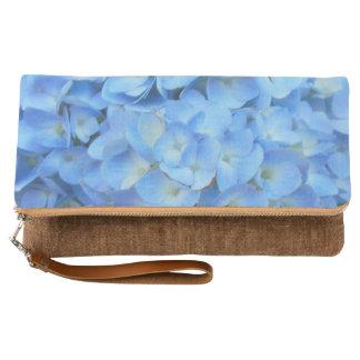 Blue Hydrangea Clutch