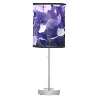 Blue Hydrangea Desk Lamps