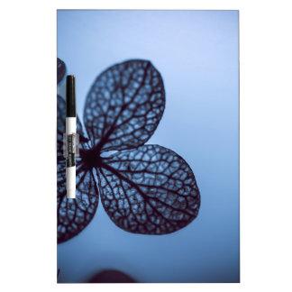 Blue Hydrangea Dry Erase Board