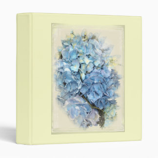 Blue Hydrangea Flower Binder