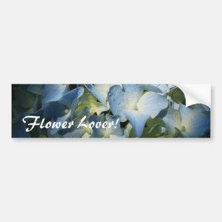 Blue Hydrangea Flower I Bumper Stickers