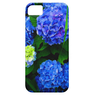 Blue Hydrangea Flowers Case (Customisable) iPhone 5 Cover