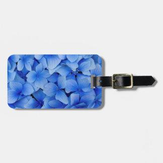 Blue Hydrangea Flowers Luggage Tag