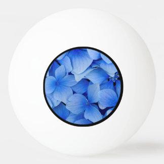 Blue Hydrangea Flowers Ping Pong Ball