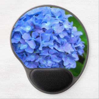 Blue Hydrangea Gel Mouse Mats