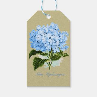Blue Hydrangea Gift Tags
