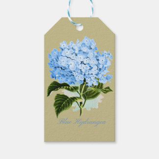 Blue Hydrangea Pack Of Gift Tags