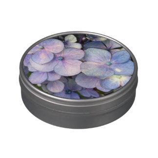 Blue Hydrangea Personalized Jelly Belly™ Candy Tin