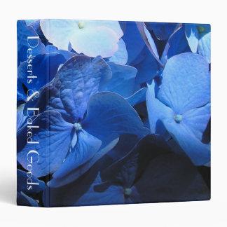 Blue Hydrangea - Recipe Binder