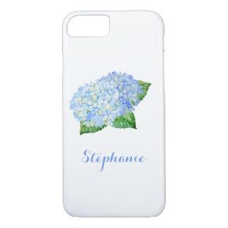 Blue Hydrangea Watercolor iPhone 8/7 Case