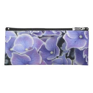 Blue Hydrangea with White Border Pencil Case
