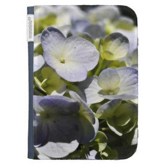 Blue Hydrangeas Flowers Kindle Case