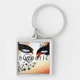 Blue Hypnotic Eyes Make Up Keychain