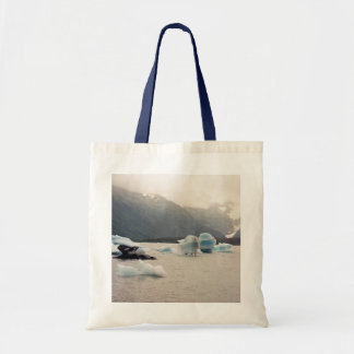 Blue Ice Budget Tote Bag
