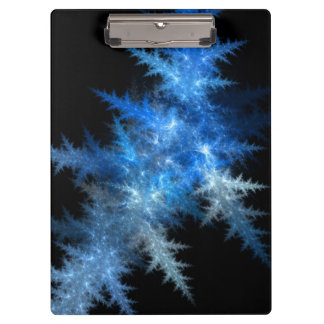 Blue Ice Fractal Clipboard