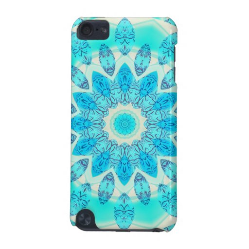 Blue Ice Goddess, Abstract Crystals of Love iPod Touch 5G Covers