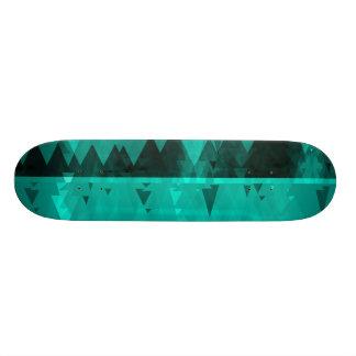 "Blue Ice mist Skateboard Deck 7 3/4"""