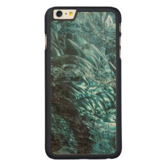 Blue ice of an ice cave, Iceland Carved® Maple iPhone 6 Plus Case