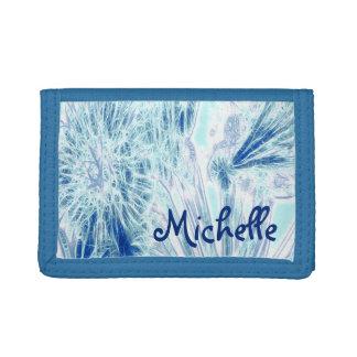 Blue Ice Tri-fold Wallet